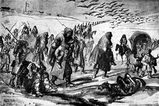 constantin-guys-the-retreat-crimean-war-19th-century