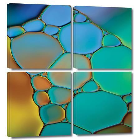 cora-niele-connected-ii-4-piece-gallery-wrapped-canvas