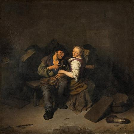 cornelis-bega-young-couple-in-a-tavern-1661