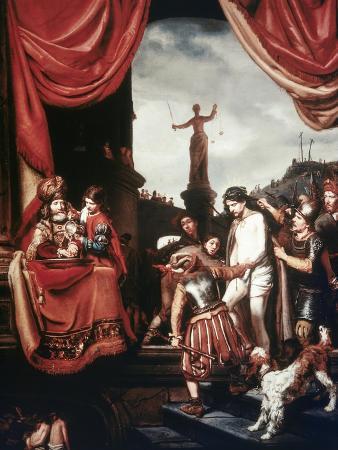 cornelis-bisschop-christ-before-pilate