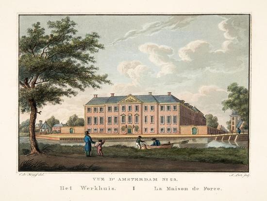cornelis-de-kruyff-vue-d-amsterdam-no-25-het-werkhuis-la-maison-de-force-1825