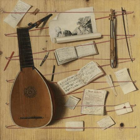 cornelis-norbertus-gijsbrechts-trompe-l-oeil-still-life-with-a-lute-rebec-and-music-sheets