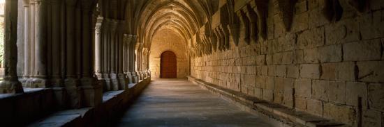 corridor-of-a-monastery-poblet-monastery-conca-de-barbera-tarragona-province-catalonia-spain