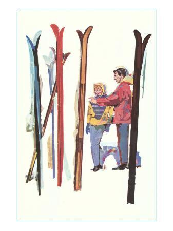 couple-with-sets-of-skis
