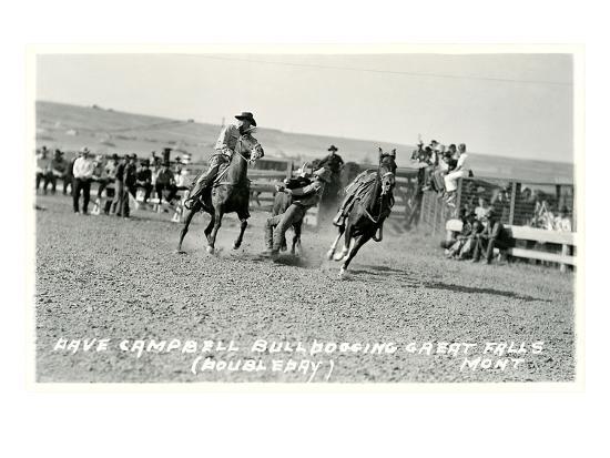 cowboy-bulldogging-montana