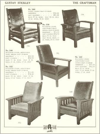 craftsman-wood-and-leather-chairs