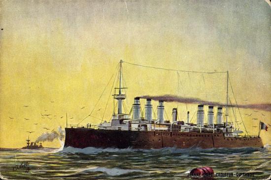 croiseur-cuirasse-kriegsschiff-le-jeanne-d-arc