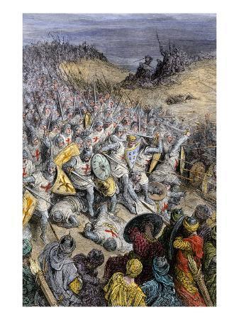 crusaders-under-godfrey-of-bouillon-defeating-muslim-forces-of-sultan-kilij-arslan-dorylaeum