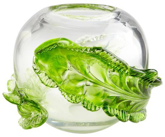 crystal-wrap-leaf-vase-small