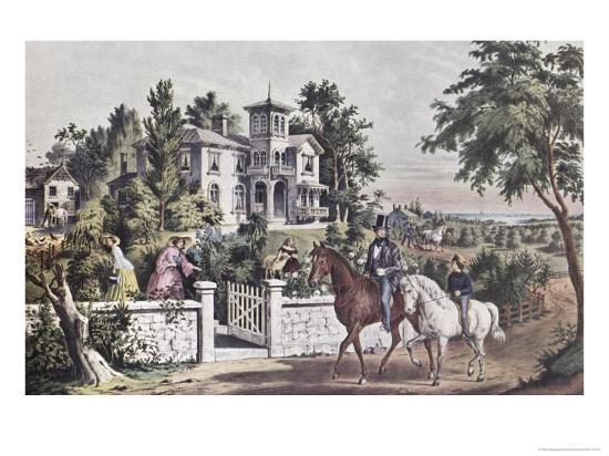 currier-ives-american-country-life-may-morning