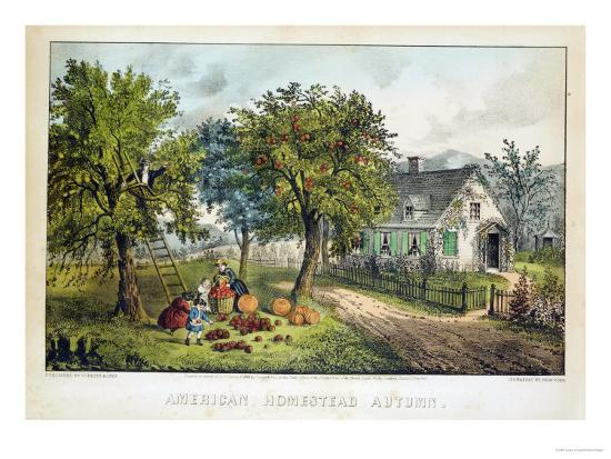 currier-ives-american-homestead-autumn