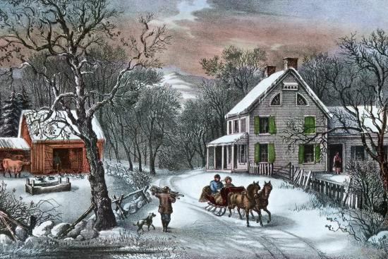 currier-ives-american-homestead-in-winter-1868