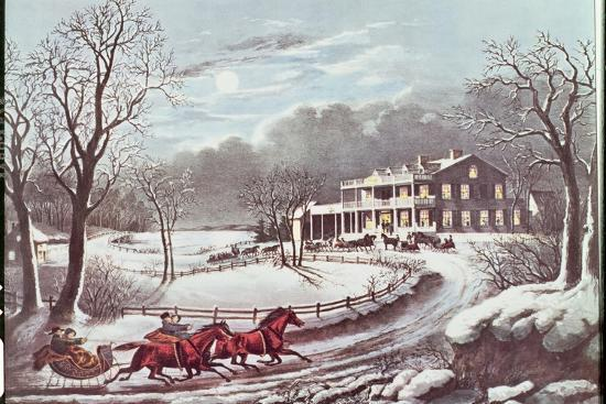 currier-ives-american-winter-evening-scene