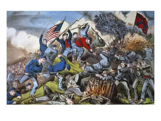 currier-ives-battle-of-chattanooga-1863