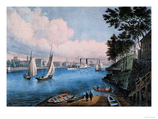 currier-ives-blackwell-island