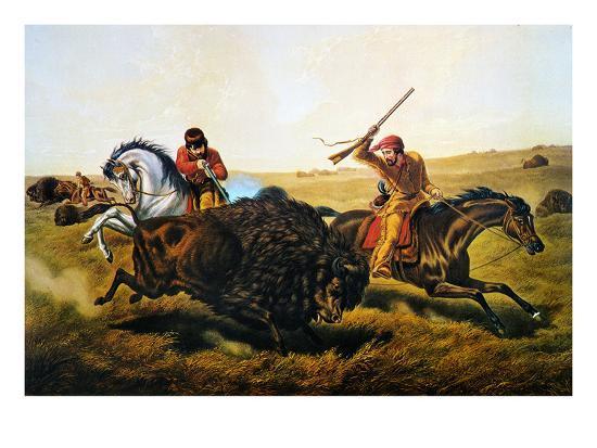 currier-ives-buffalo-hunt-1862