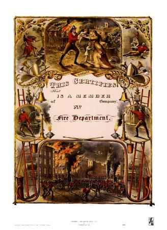 currier-ives-certificate-of-membership-fire-department-1877