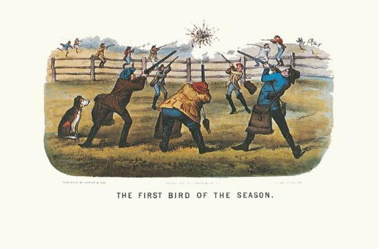 currier-ives-first-bird-of-the-season