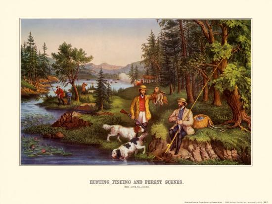 currier-ives-hunting-fishing-and-forest-scenes