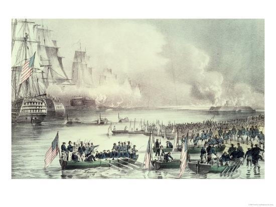 currier-ives-landing-of-the-american-force-at-vera-cruz-under-general-scott-march-1847