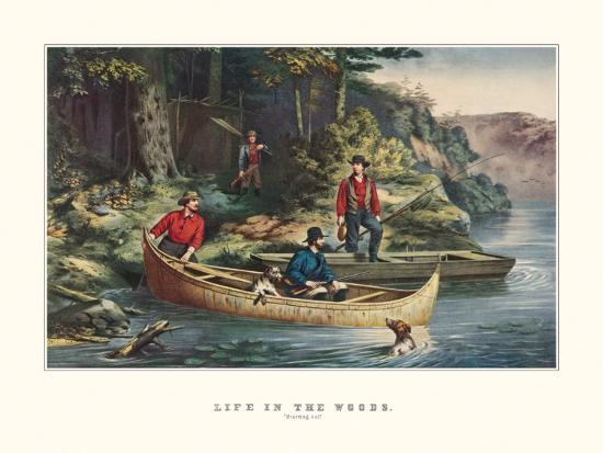 currier-ives-life-in-the-woods