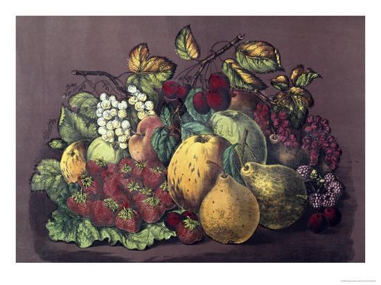 currier-ives-summer-fruit