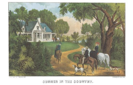 currier-ives-summer-in-the-country