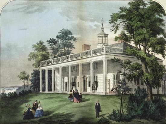 currier-ives-the-home-of-washington