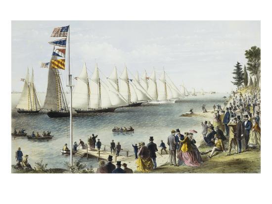 currier-ives-the-new-york-yacht-club-regatta-1869