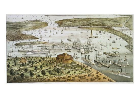 currier-ives-the-port-of-new-york