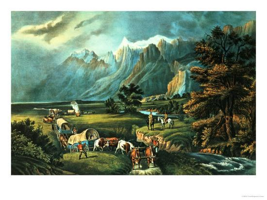 currier-ives-the-rocky-mountains-emigrants-crossing-the-plains-1866