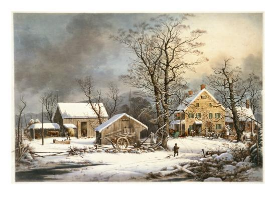 currier-ives-winter-in-the-country-a-cold-morning