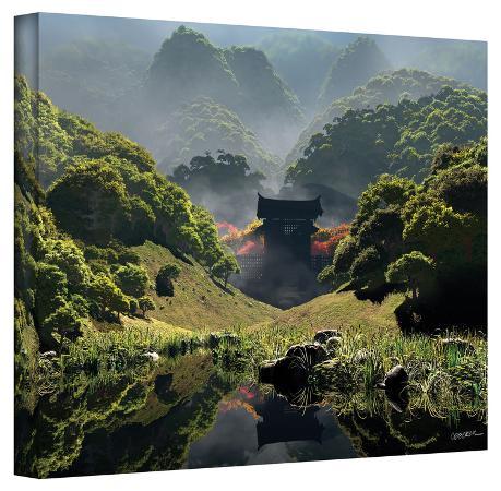 cynthia-decker-cynthia-decker-temple-of-perpetual-autumn-gallery-wrapped-canvas