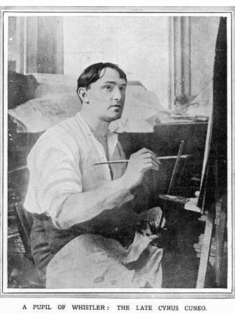 cyrus-cincinnato-cuneo-special-artist-of-the-illustrated-london-news-pictured-at-work