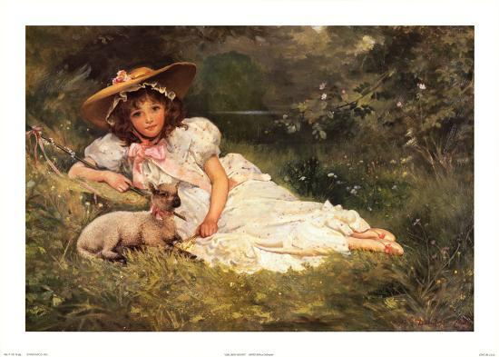 dampler-girl-with-her-pet