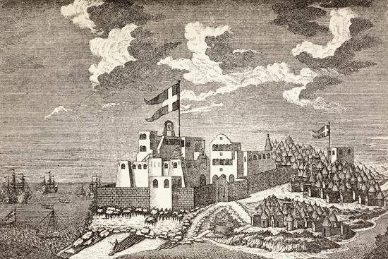 danish-colonial-fort-fort-christiansborg