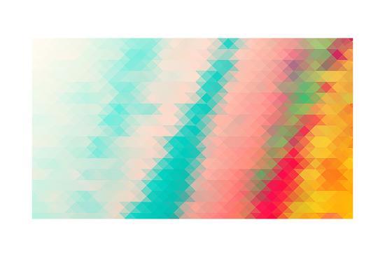 darknicesnow-triangle-background