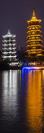 darrell-gulin-gold-and-silver-pagoda-evening-light-guilin-china