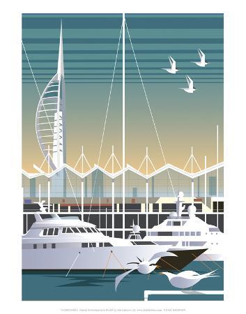 dave-thompson-gunwharf-quays-dave-thompson-contemporary-travel-print