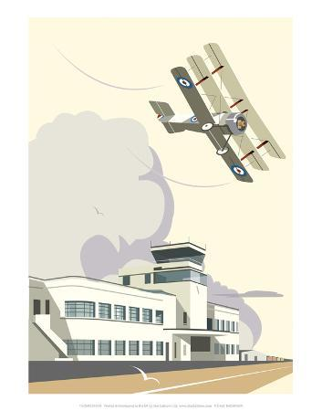 dave-thompson-shoreham-airport-blank-dave-thompson-contemporary-travel-print