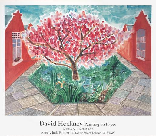 david-hockney-cherry-blossom