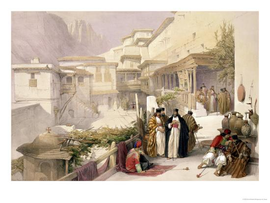 david-roberts-convent-of-st-catherine-mount-sinai-february-17th-1839