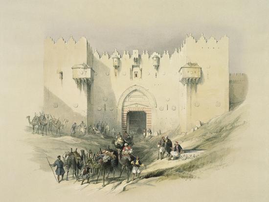 david-roberts-damascus-gate-jerusalem