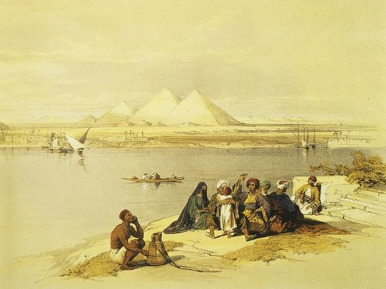 david-roberts-the-pyramids-at-giza-egypt-lithograph-1838-9