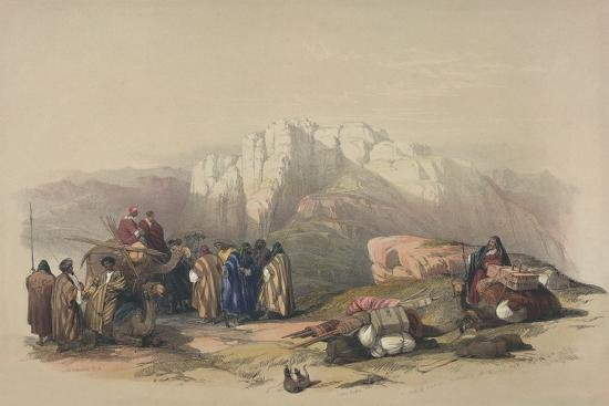 david-roberts-tomb-of-aaron-from-the-holy-land-engraved-by-louis-haghe-1806-85