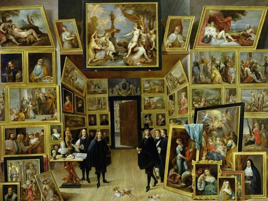 david-teniers-the-younger-archduke-leopold-wilhelm-1614-61-in-his-picture-gallery-circa-1647