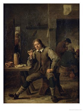 david-teniers-the-younger-smoker-leaning-on-a-table-1643