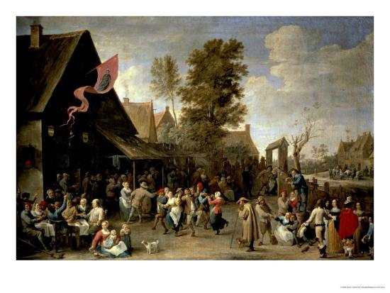 david-teniers-the-younger-the-consecration-of-a-village-church-circa-1650