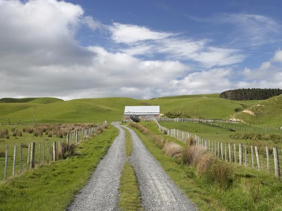 david-wall-track-and-farm-building-near-lake-ferry-wairarapa-north-island-new-zealand
