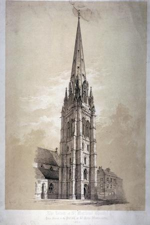 day-son-tower-of-the-church-of-st-matthew-great-peter-street-westminster-london-1850